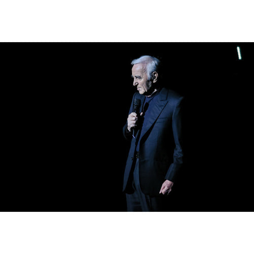 Charles Aznavour, 2015, Close Up Photo Print