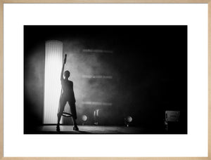 Chvrches, 2016, Black and White On Stage Photo Print