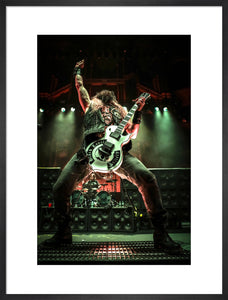 Black Label Society, 2018, Close Up Photo Print