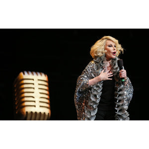 Joan Rivers, 2012, Close Up Photo Print
