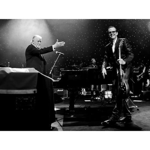 Jon Lord with Joe Bonamassa, 2011, On Stage Photo Print