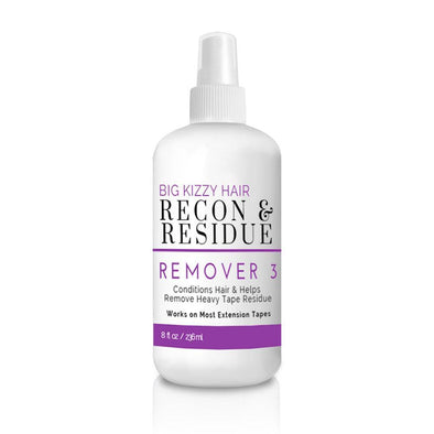 Best Extension Tape Remover for Sticky Adhesive Residue | Tape Remover 3 Recon & Residue