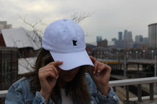 Load image into Gallery viewer, White Minnesota Hat