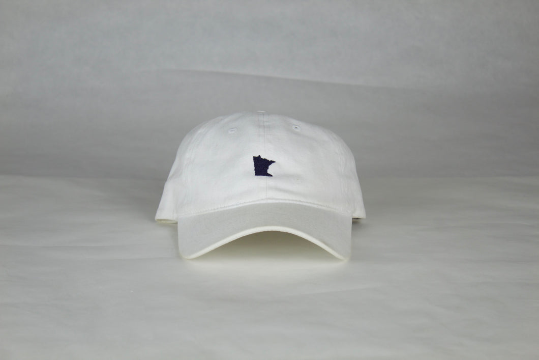 White Minnesota Hat