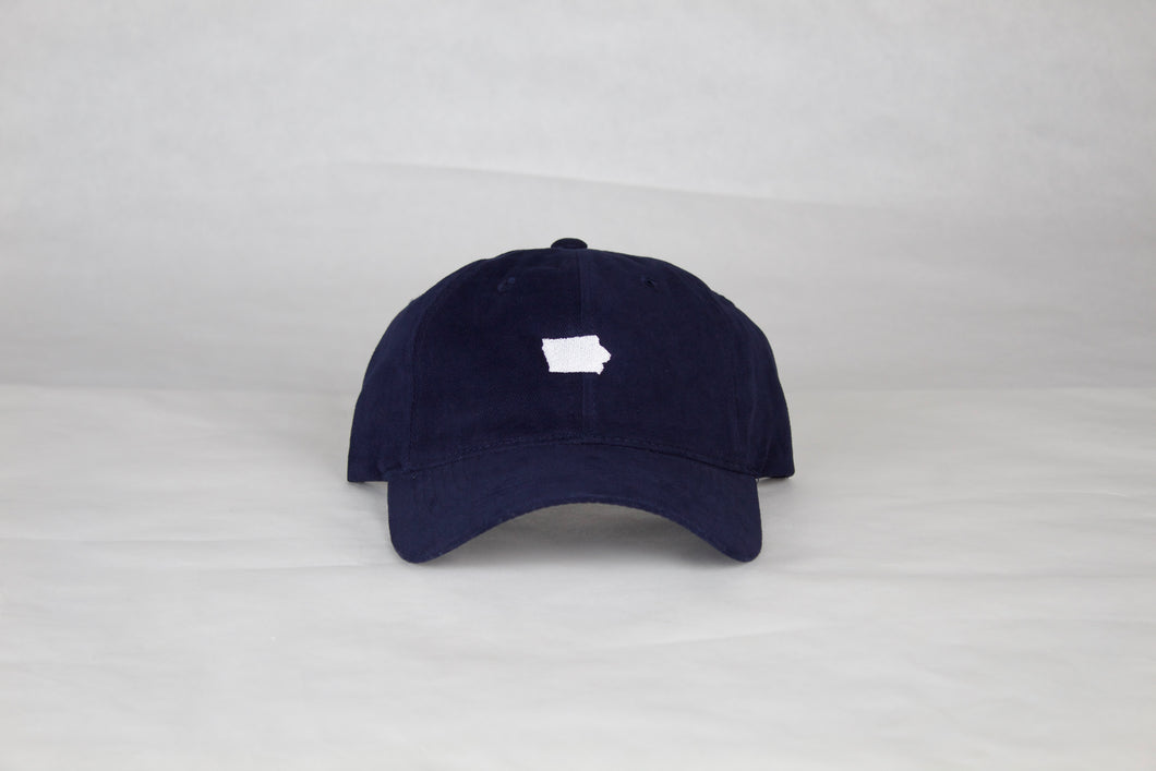 Navy Iowa Hat