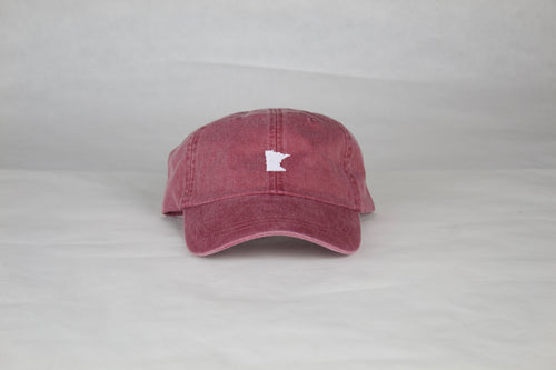 Burgundy Minnesota Hat