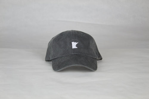 Charcoal Minnesota Hat