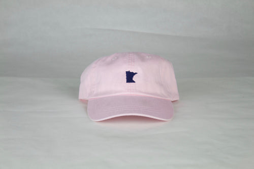 Pale Pink Minnesota Hat