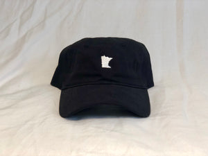 Black Minnesota Hat
