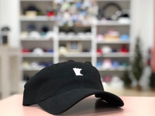 Load image into Gallery viewer, Black Minnesota Hat