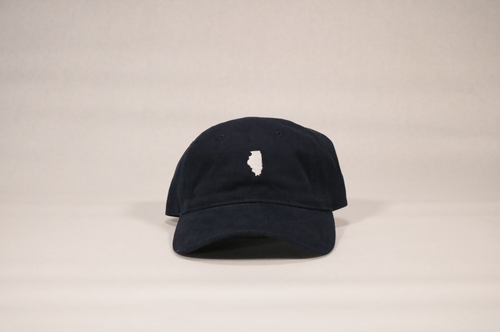 Navy Illinois Hat