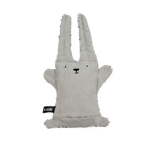 Load image into Gallery viewer, Reversible Cotton Soft Toy - Sleepy Panda/Bunny Rabbit