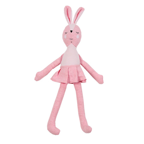 Soft Jersey Doll - Pink Betty Rabbit