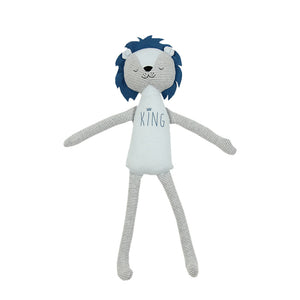 Soft Jersey Doll - Blue Lion