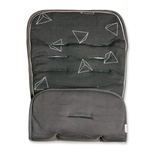 Load image into Gallery viewer, Waffle Pram Liner - dark grey