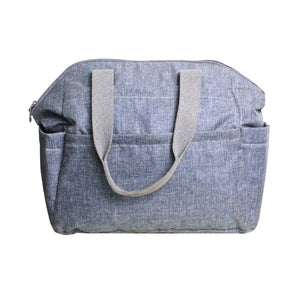 Maya nappy bag - blue jeans