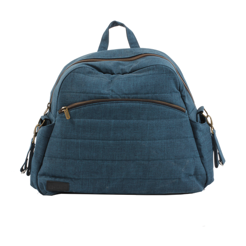 Nicki nappy bag - dark blue denim