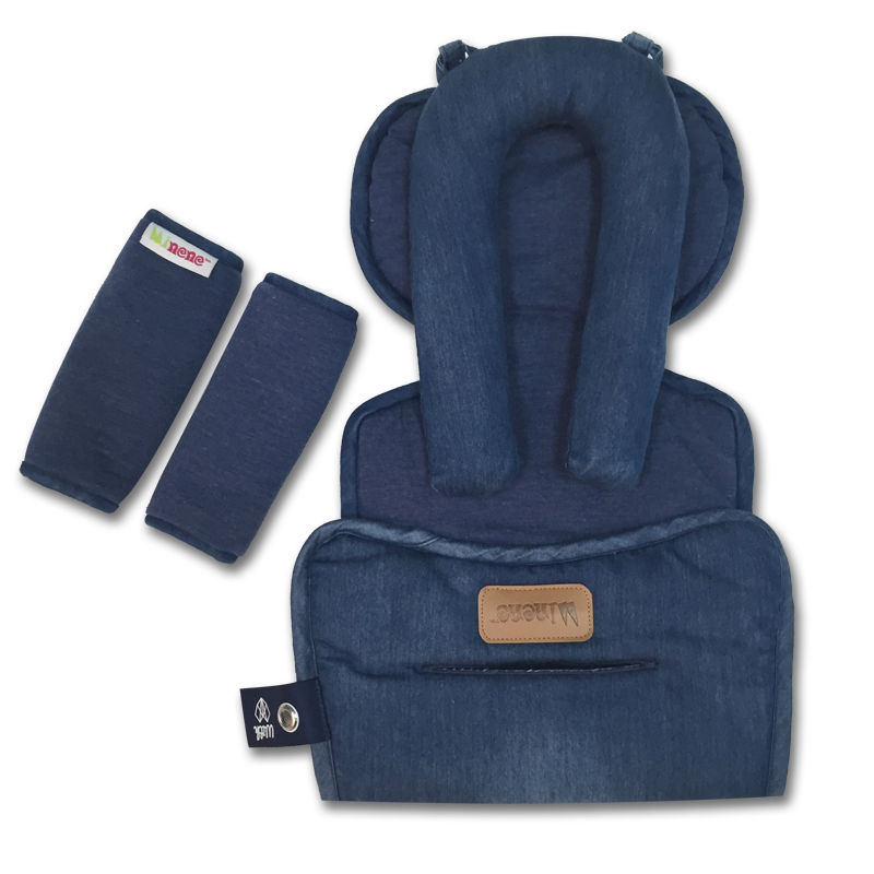 Mi Car Seat Liner - blue denim