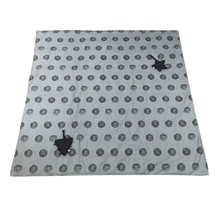 Load image into Gallery viewer, Portable Activity Mat - green with grey dots