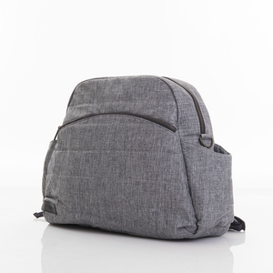 Nicki nappy bag - dark grey denim