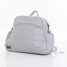 Load image into Gallery viewer, Nicki nappy bag - light grey denim