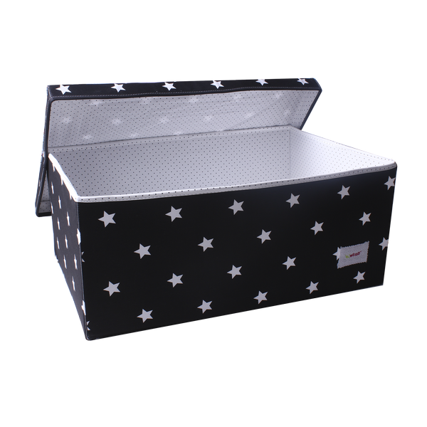 Large storage box - shiny star black