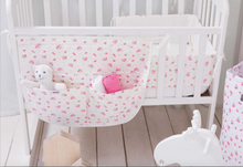 Load image into Gallery viewer, Bassinet Bumper - spring blossom cream