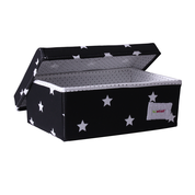 Small storage box - shiny star black