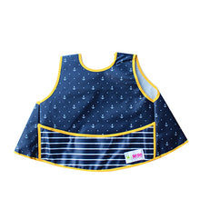Load image into Gallery viewer, Full vest bib - blue anchors