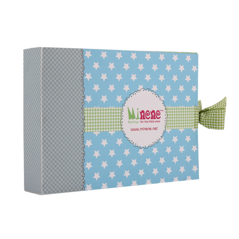 Boxed gift set - blue
