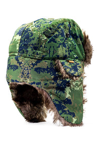 Aviator Hat Green Camo