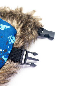 Aviator Hat Blue Camo