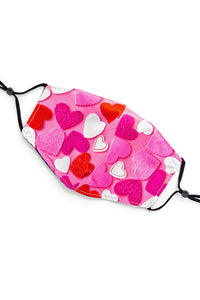 Adjustable Strap Fashion Mask- Craft Hearts