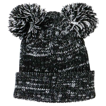 Fashion Ball Beanie Black