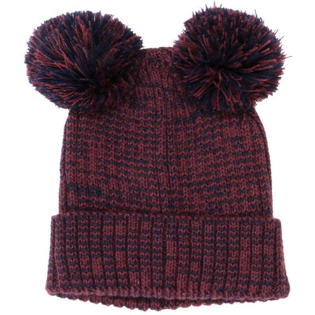 Fashion Ball Beanie Burgundy