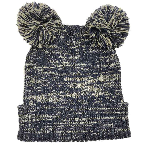 Fashion Ball Beanie Navy