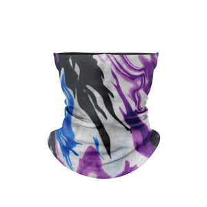 Neck Gaiter Camo Purple