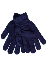Gloves Solid Navy