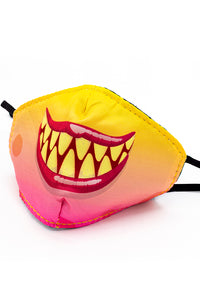 Kids Monster Fashion Mask- Peach
