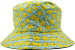 Kids Floppy Bucket Hat with Ducks