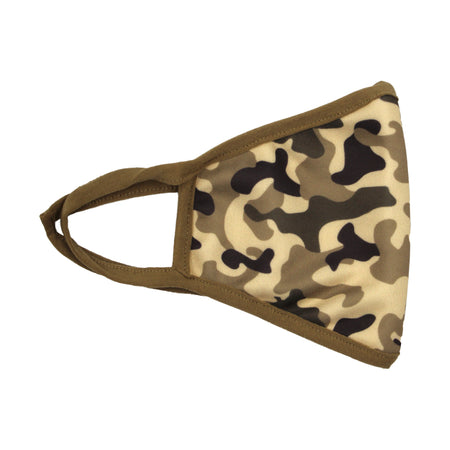 Fashion Mask Camo Beige