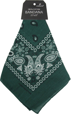Bandana Dark Green