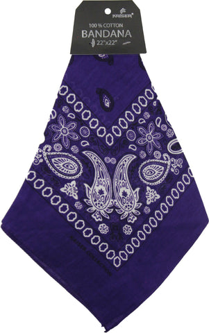 Bandana Dark Purple