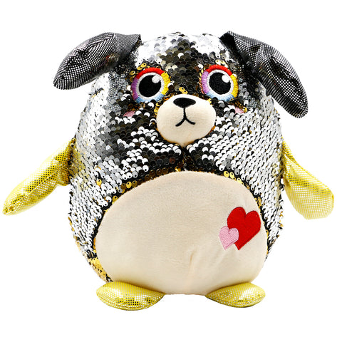 Sequin Plush Dog