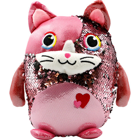Sequin Plush Cat