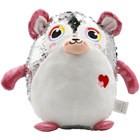 Sequin Plush Bear