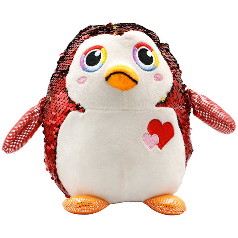 Sequin Plush Penguin