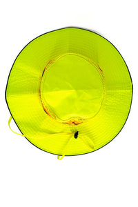 Rockline Reflective Bucket Hat - Yellow