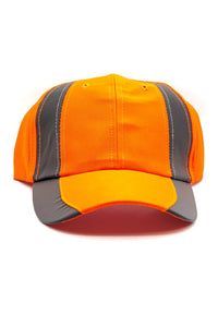 Rockline Reflective Baseball Cap - Orange