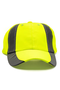 Rockline Reflective Baseball Cap - Yellow